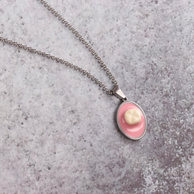Meaty Cameo Necklace
