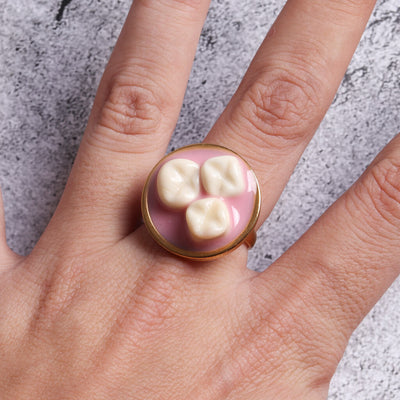 Meaty Statement Ring