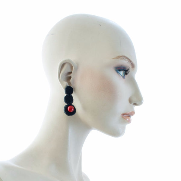 Petra Dangle Earrings Earrings by Cosima Montavoci - Co Glass Jewellery