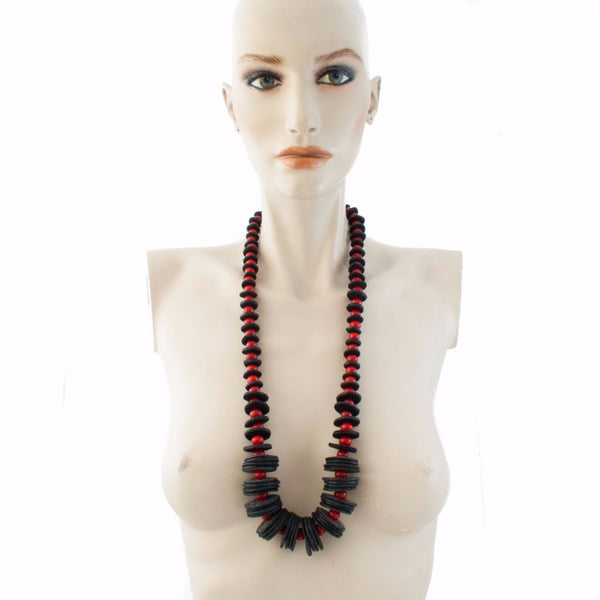 Petra Mother Necklace Necklace by Cosima Montavoci - Co Glass Jewellery