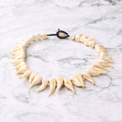 Teeth Statement Necklace