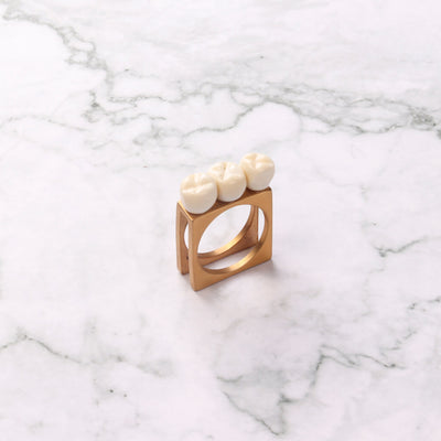 Teeth Statement Ring