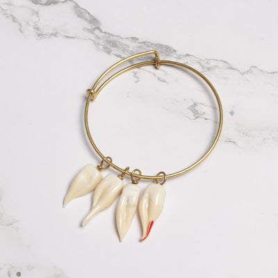 Teeth Charms Bracelet