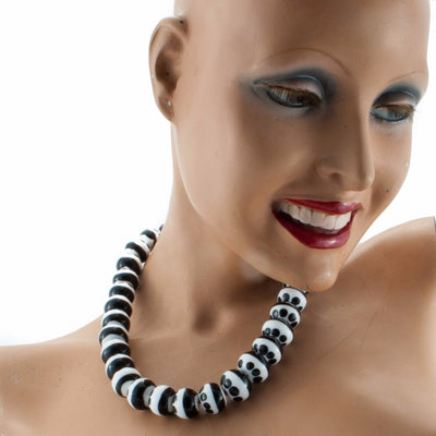Barrapunto Necklace Necklace by Cosima Montavoci - Co Glass Jewellery