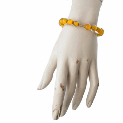 Biglia Bangle Orange Bracelets by Cosima Montavoci - Sunset Yogurt