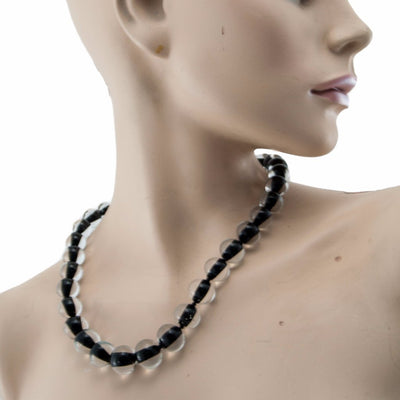 Biglia Black Necklace Necklace by Cosima Montavoci - Sunset Yogurt
