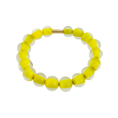 Biglia Bangle Yellow Bracelets by Cosima Montavoci - Co Glass Jewellery