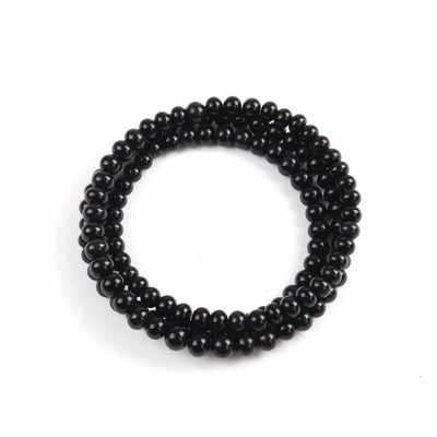 Centouno Black Choker Necklace