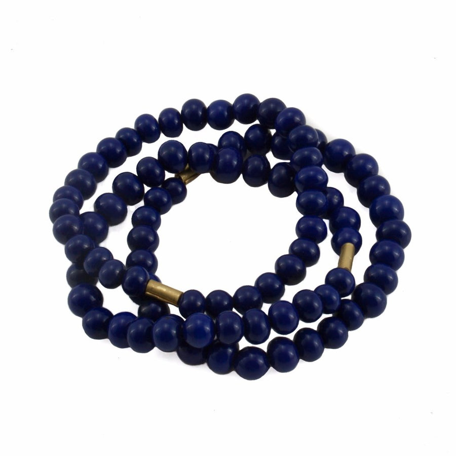 Centouno Cobalt Blue Bracelets by Cosima Montavoci - Co Glass Jewellery
