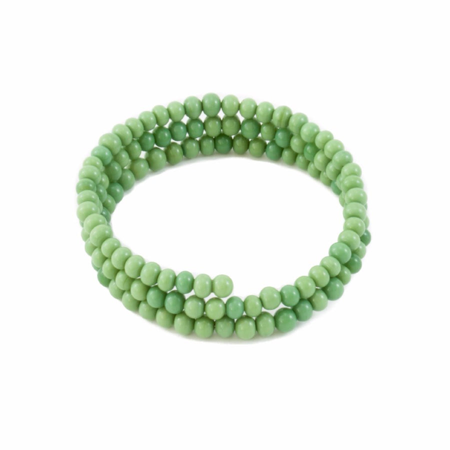Centouno 60's Green Choker Necklace Necklace by Cosima Montavoci - Co Glass Jewellery