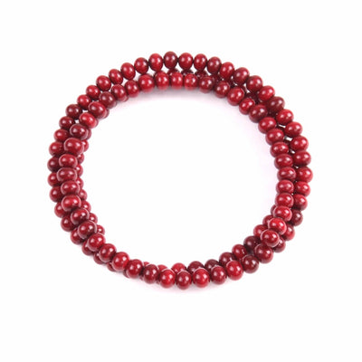 Centouno Bordeaux Choker Necklace