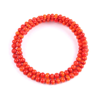 Centouno Red Choker Necklace