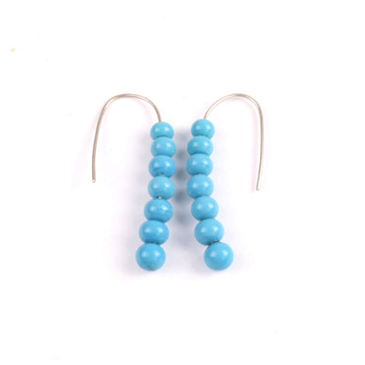 Centouno Azure Dangle Earrings