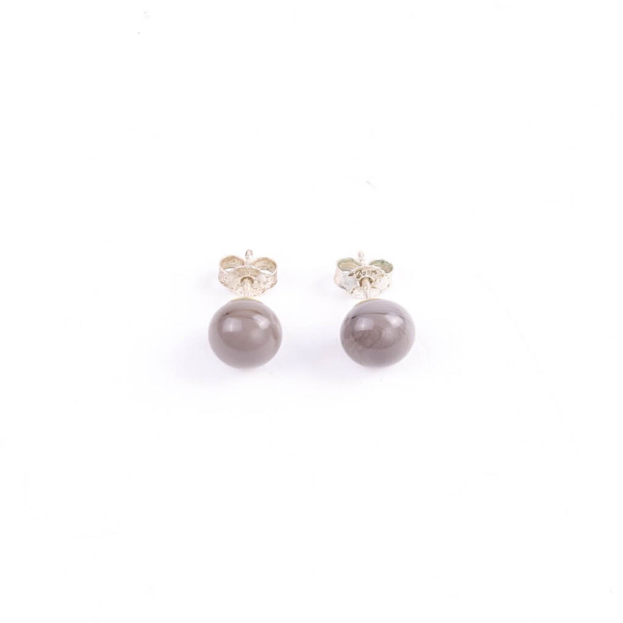 Centouno Grey Stud Earrings