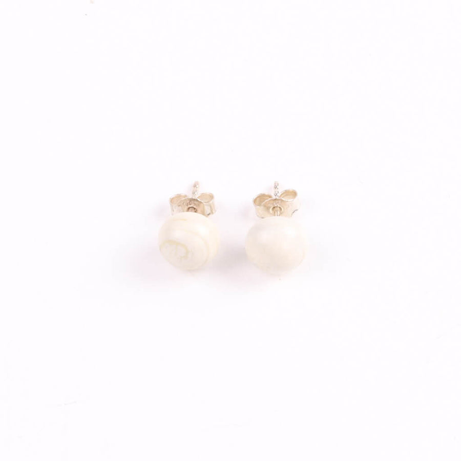 Centouno Ivory Stud Earrings