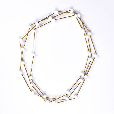 Centouno Versatile White and Brass