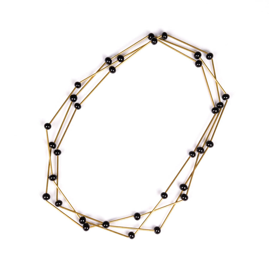 Centouno Versatile Black and Brass