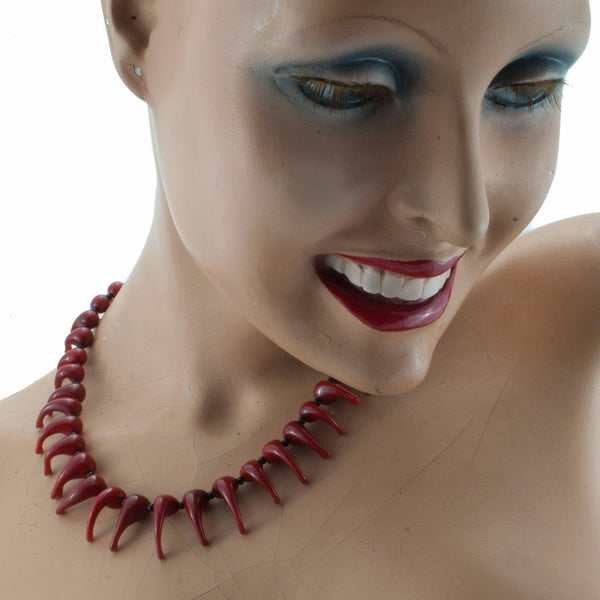 Cora Necklace by Cosima Montavoci - Co Glass Jewellery