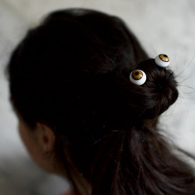 Eyes Hair Pin