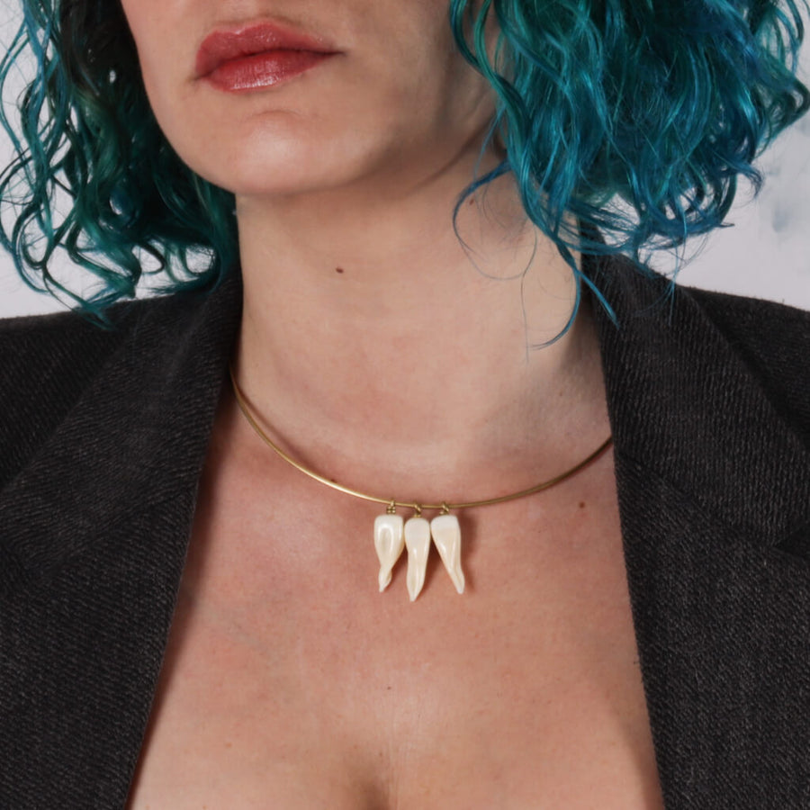 Teeth Collier Necklace