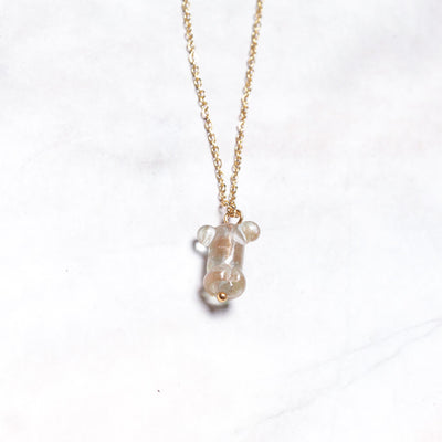 Gold Member Pendant Necklace