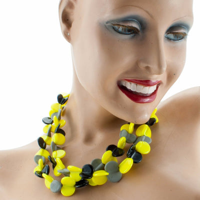 Margherita Neon Necklace Necklace by Cosima Montavoci - Sunset Yogurt