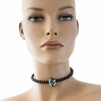 Miriam Choker Necklace Necklace by Cosima Montavoci - Sunset Yogurt