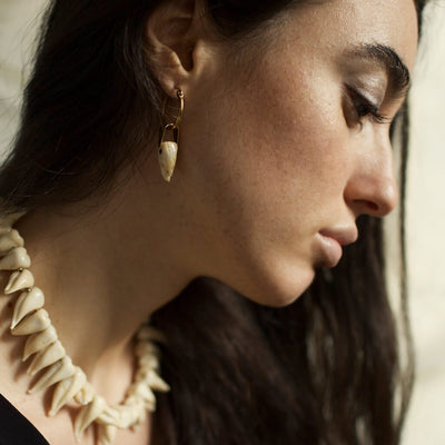 Teeth Statement Earrings