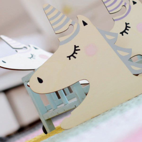FOXELLA AND FRIENDS | UNICORN HANGER