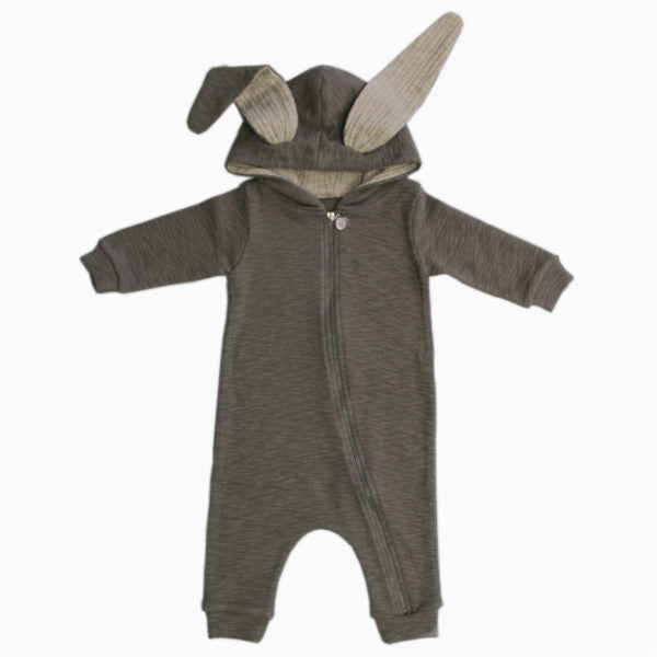 LALA | BUNNY JUMPSUIT - GREY