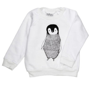 TOBIAS AND THE BEAR | PERCY THE PENGUIN SWEATER