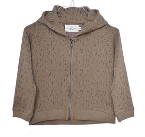 MONSIEUR MINI | HOODIE BROWN FUR