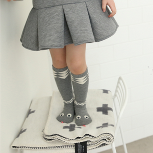 MINI DRESSING | SNAKE SOCKS - GREY