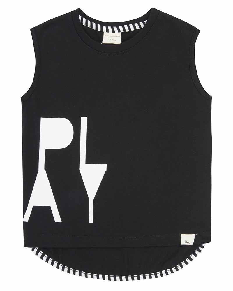 TURTLEDOVE LONDON | PLAY DROP HEM TANK