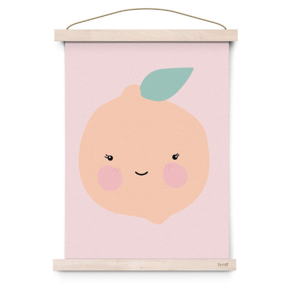 EEF LILLEMOR | POSTER FRESH FRUIT ORANGE - Mini Maj Copenhagen