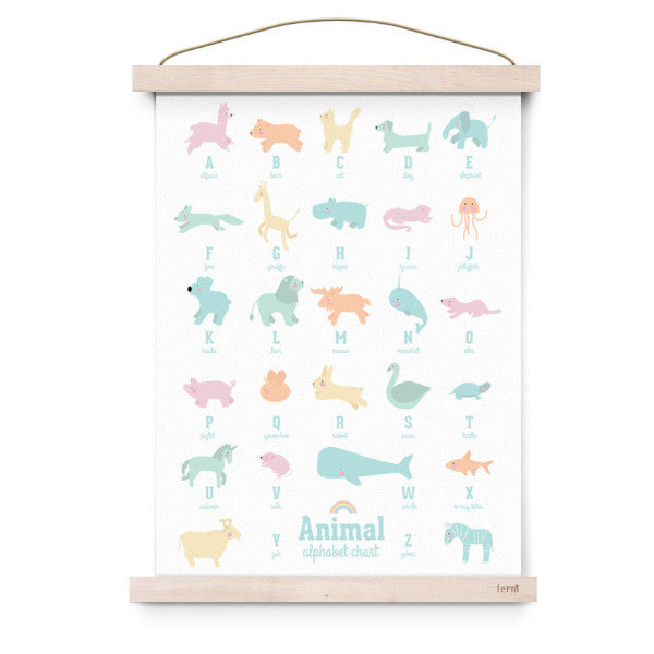 EEF LILLEMOR | ANIMAL ALPHABET -PASTEL