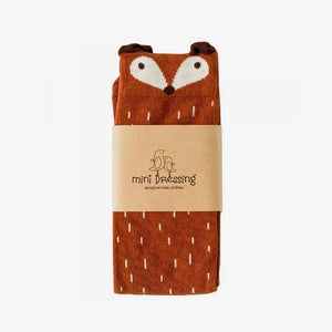 MINI DRESSING | RACOON SOCKS-BROWN