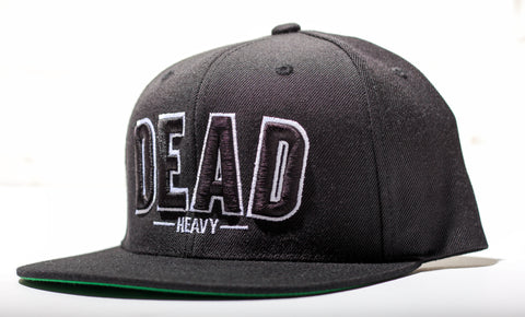 Dead Heavy SnapBack - Black