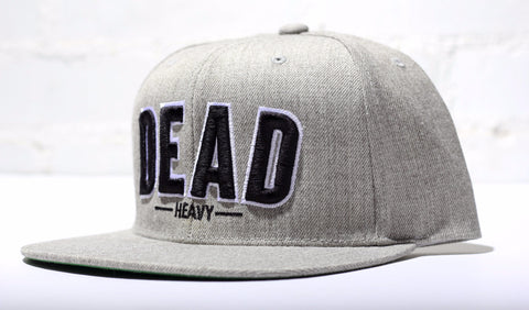 Dead Heavy SnapBack - Heather Grey