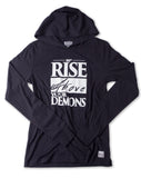 Rise Above Hooded Long Sleeve
