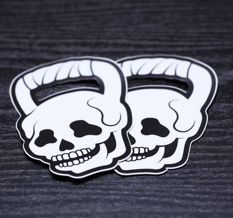 SKUTTLE BELL DECALS - 2PACK