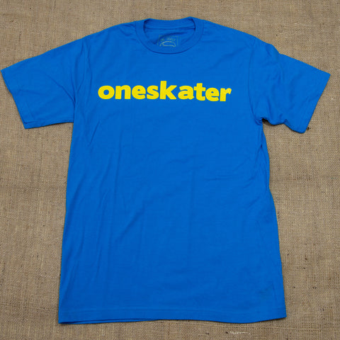 OneSkater Turquoise fitted T shirt