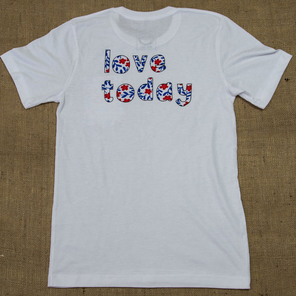 OneSkater Love Today Fitted Pocket T shirt