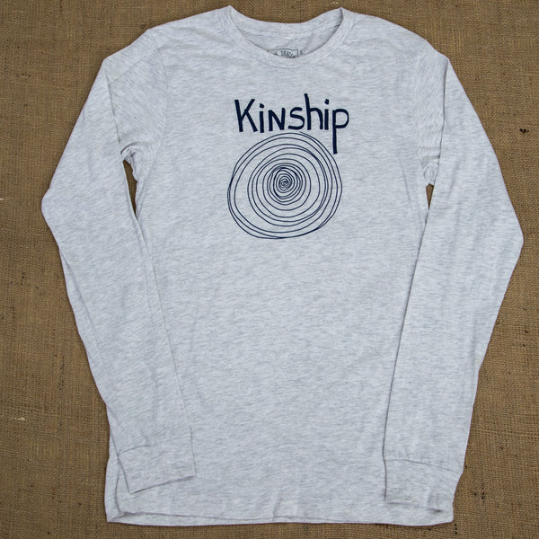 Kinship | Aspen White Long Sleeve T Shirt