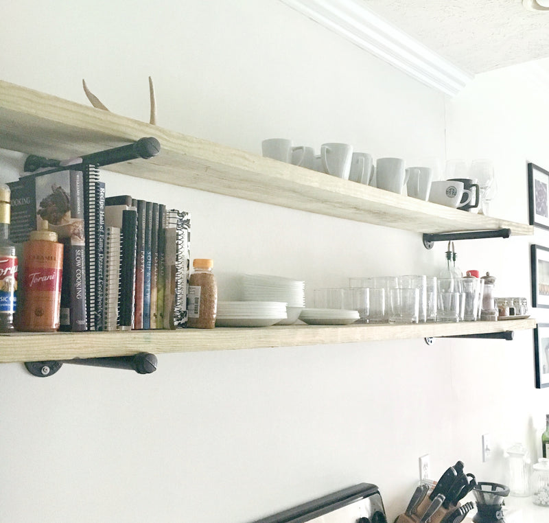 Whitney Wednesday: Easy and Cheap DIY Wall Shelves