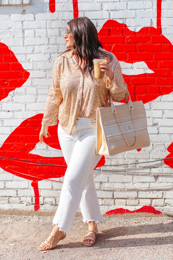 Sushi Leggings are denim colored leggings that feature little pieces of sushi and chopsticks pattern throughout along with elastic waist