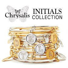 Chrysalis Jewellery - Initials Collection