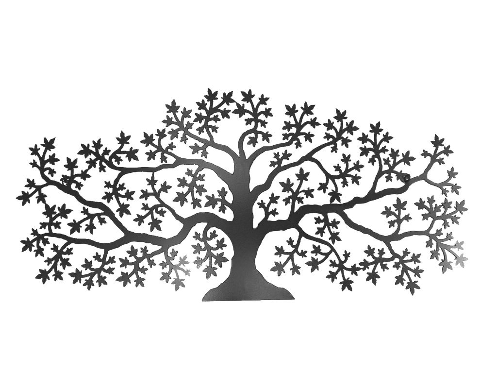 Maple Tree - Wall Mounted - Metal Art - The Cuckoo's Nest - 1
