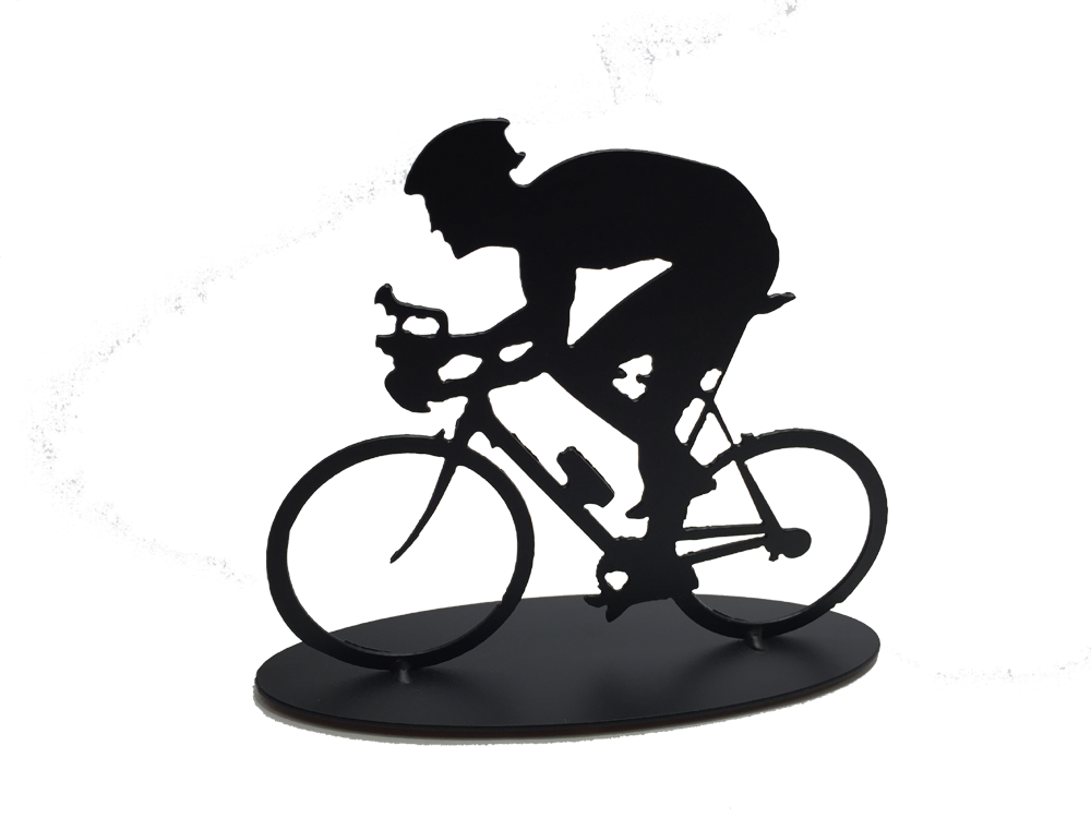 Cyclist - Single Male - Metal Art - The Cuckoo's Nest