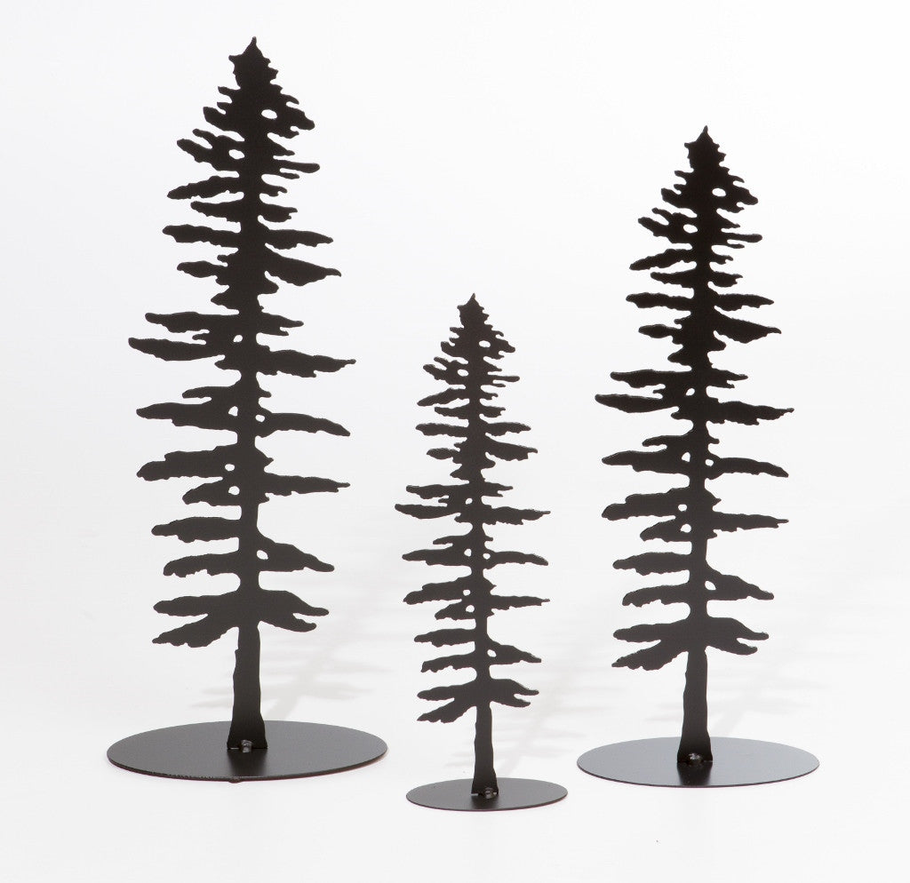 Sitka Trees - Standing - Metal Art - The Cuckoo's Nest - 2